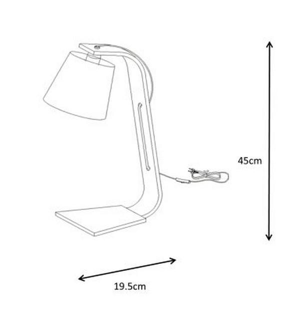 Lampa stołowa NORDIC - 06502/81/31