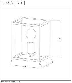 Lampa ścienna ARTHUR - 08224/01/30