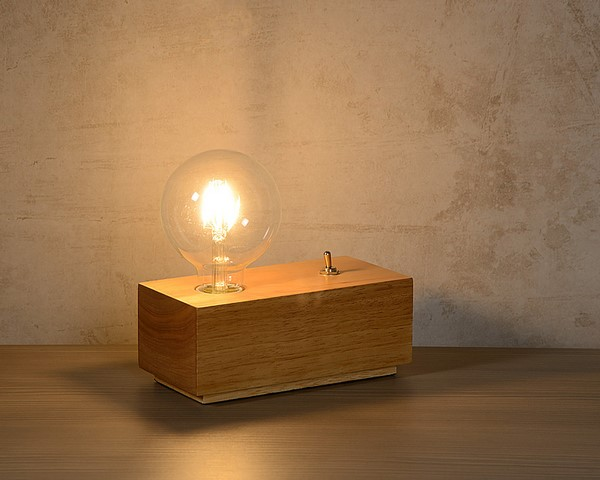 Lampa stołowa EDISON - 08516/04/72
