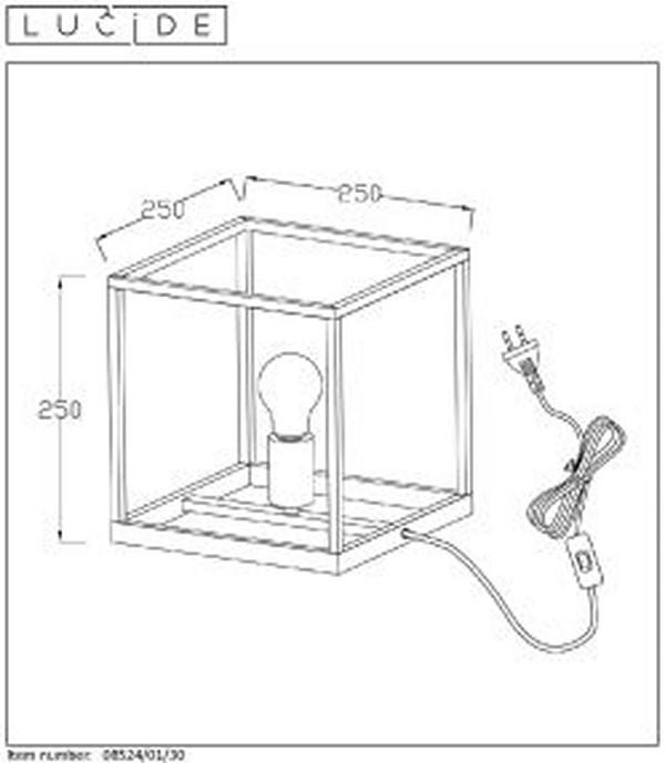 Lampa stołowa ARTHUR - 08524/01/30