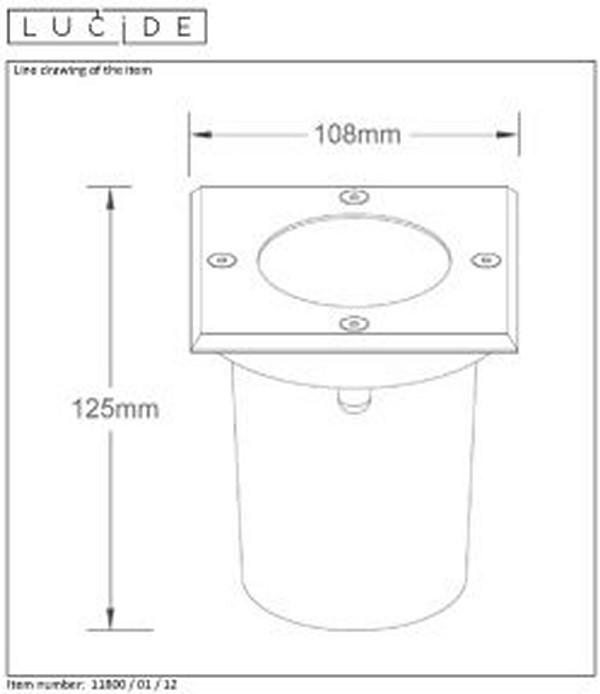 Lampa zewnętrzna BILTIN - 11800/01/12