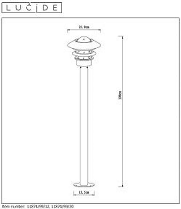 Lampa zewnętrzna ZICO - 11874/99/12