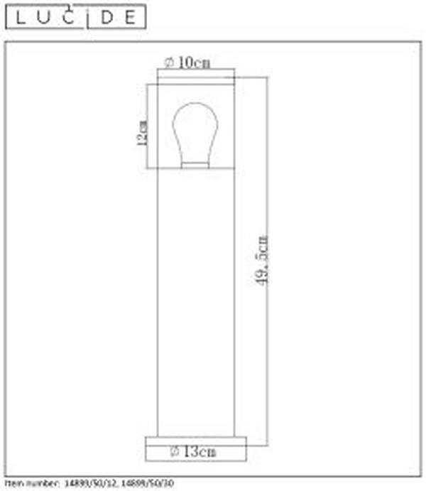 Lampa zewnętrzna FEDOR - 14899/50/12
