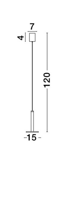 Lampa wisząca PALENCIA - 1703301201