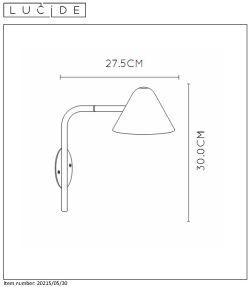 Lampa ścienna DEVON - 20215/05/30