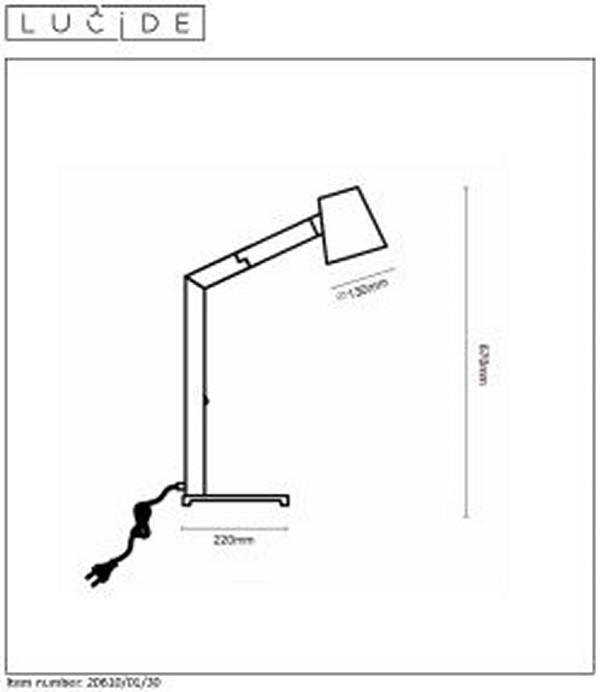 Lampka biurkowa MIZUKO - 20610/01/30