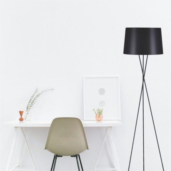Lampa podłogowa K-4353 z serii REMI BLACK