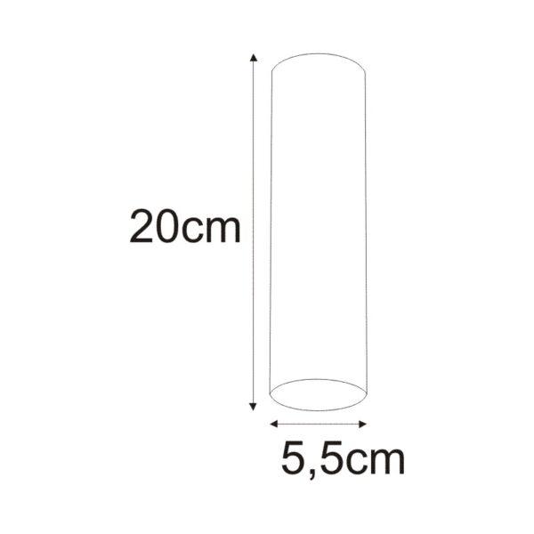 Lampa sufitowa K-4415 z serii MILE WHITE