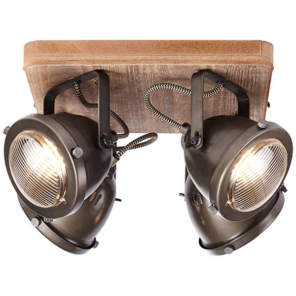 Lampa sufitowa Carmen Wood - 72035/84
