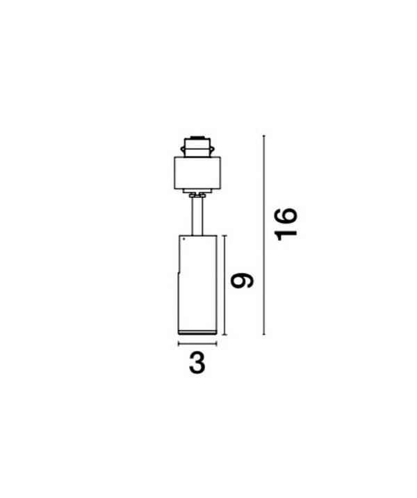 Lampa techniczna NAP - 8252008