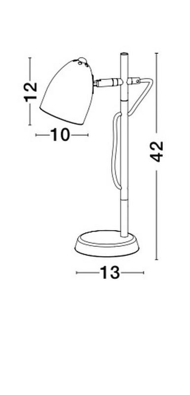 Lampka biurkowa ALINA - 8808401