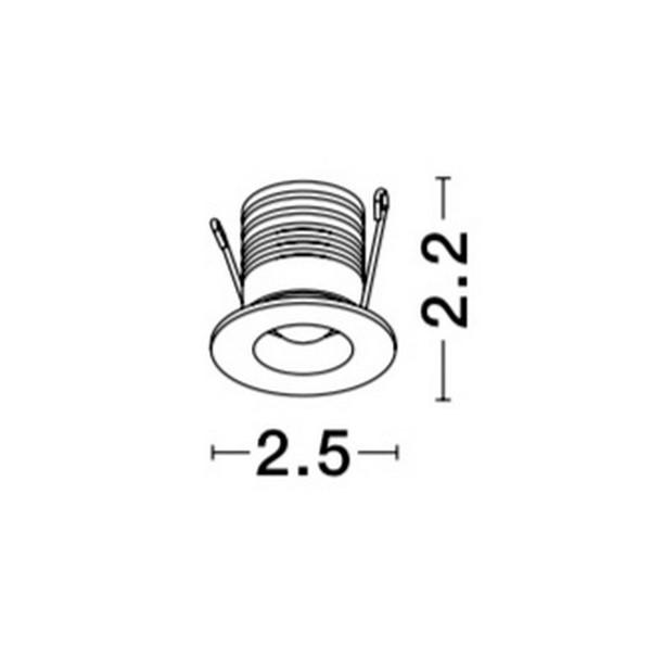 Lampa sufitowa TINY - 9080202