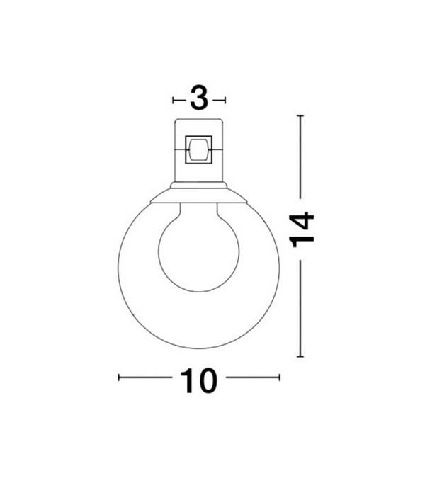 Lampa techniczna MINIMAL - 9090283