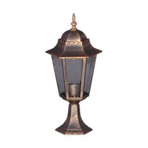 Lampa ogrodowa K-5006S - czarno-złota