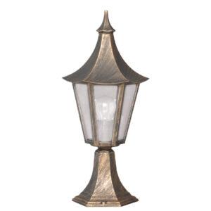 Lampa ogrodowa K-5010S - czarno-złota