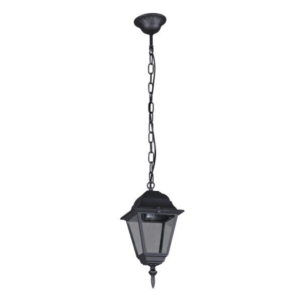 Ogrodowa lampa wisząca K-5019H/N - czarny