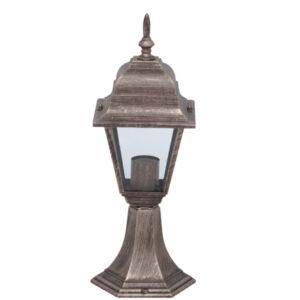 Lampa ogrodowa K-5019S/N - czarno-złoty