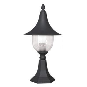 Lampa ogrodowa K-5038S z serii PARIS - czarna