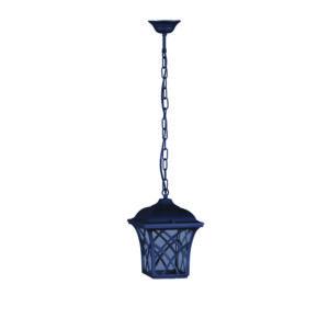 Ogrodowa lampa wisząca K-5180H - czarny