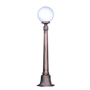 Lampa ogrodowa K-6035A - czarno-złota