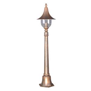 Lampa ogrodowa K-6038A z serii PARIS - czarno-złota