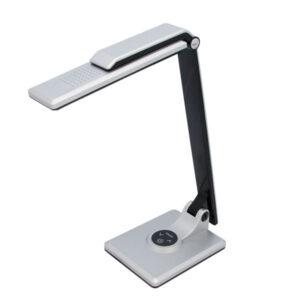 Lampka biurkowa LED K-BL1203 z serii MIRO - srebrna