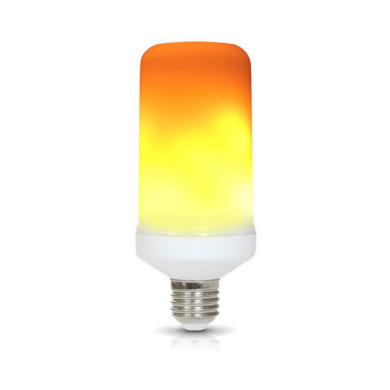 LED FLAME E27 5W barwa CIEPŁOBIAŁA - KAFEE275WCB
