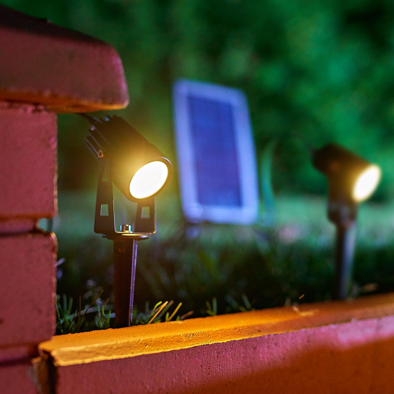 Solar LED SPIKE 2X1W barwa NEUTRALNA - KTSENB