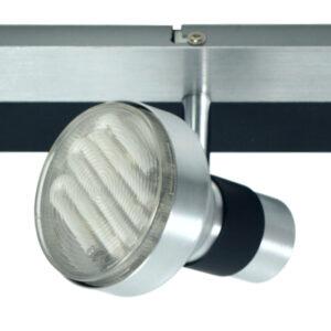 SORTHA 1 LAMPA SUFITOWA LISTWA 3X9W GX53 ENERGOOSZCZĘDNA - 93-08292
