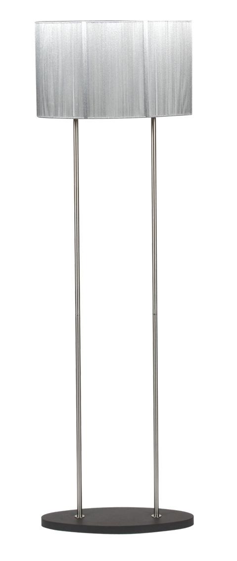 ARTEMIS LAMPA 2X60W E27 SREBRNA - 51-10196