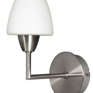 TOGO LAMPA KINKIET 1X40W G9 NIKIEL MAT PROMOCJA - 21-10622