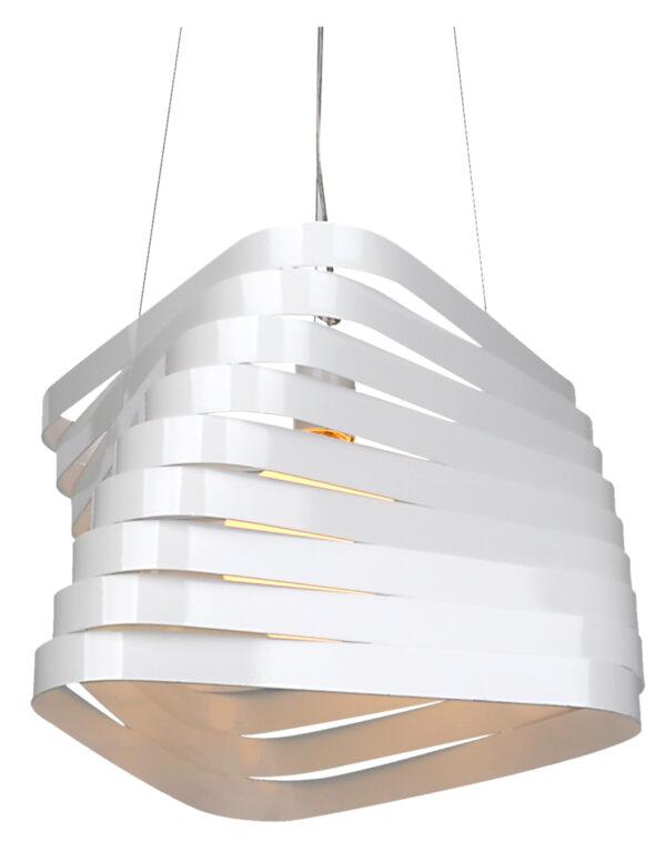 BIZO LAMPA WISZĄCA 1X60W E27 38CM BIAŁY - 31-21581
