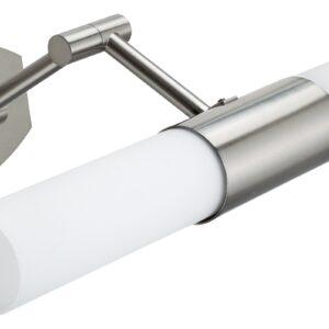 JADET LAMPA KINKIET ŁAZIENKOWY 2X40W E14 SATYNA NIKIEL - 22-26647