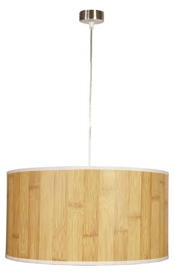 TIMBER LAMPA WISZĄCA 1X60W E27 SOSNA 40X20 - 31-56699