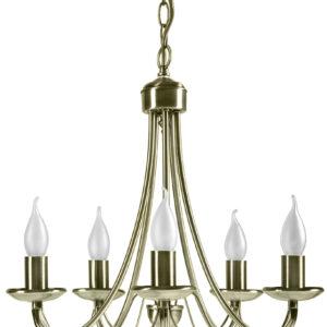 MUZA LAMPA WISZĄCA 5X40W E14 PATYNA - 35-69170