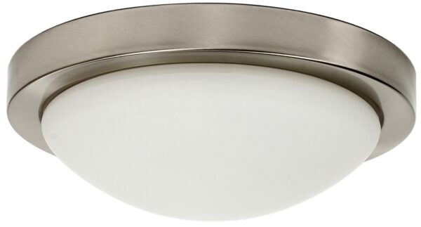 RODA LAMPA SUFITOWA PLAFON 265 E27 1X60W SATYNA NIKIEL - 13-74013