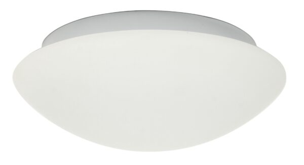 NINA LAMPA SUFITOWA PLAFON BIAŁY 390MM 2X60W E27 - 14-74242