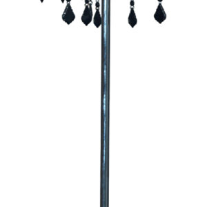 ASTOR LAMPA PODŁOGOWA 3X40W E14 + ABAŻUR 77-30743 - 53-80465