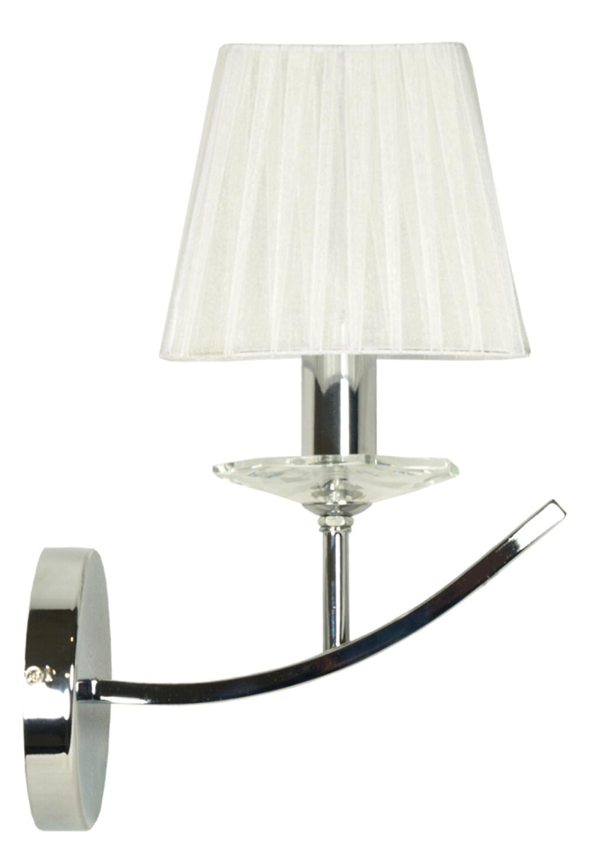 VALENCIA LAMPA KINKIET 1X40W E14 CHROM 15X36 - 21-84418
