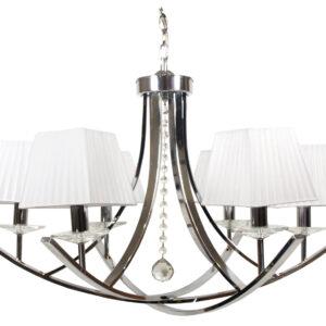 VALENCIA LAMPA WISZĄCA 6X40W E14 CHROM 80X110 - 36-84579