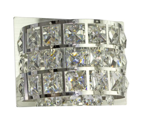 SATURN LAMPA KINKIET 12X15 1X40W G9 CHROM - 21-87228