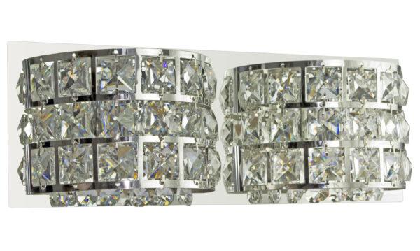 SATURN LAMPA KINKIET 12X30 2X40W G9 CHROM - 22-87235