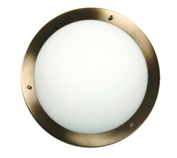 AQUILA LAMPA SUFITOWA PLAFON 40 2X60W E27 PATYNA IP44 - 14-89352