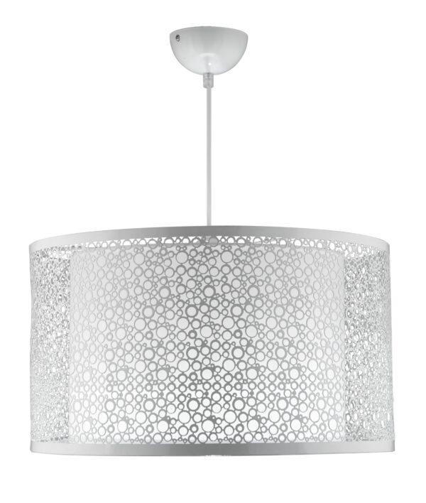 MADRAS LAMPA WISZĄCA 40 1X60W E27 BIAŁY - 31-92727