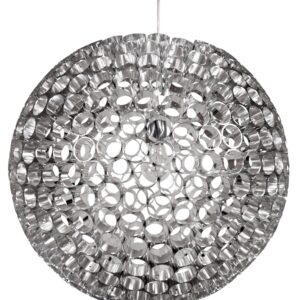 ABROS LAMPA WISZĄCA 50 1X60W E27 SREBRNY - 31-94080