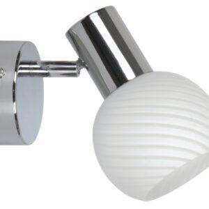 TURNO LAMPA KINKIET 1X40W E14 CHROM - 91-94189