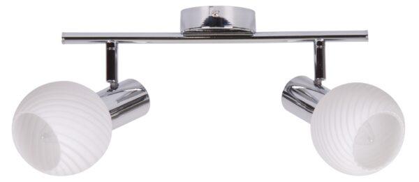TURNO LAMPA SUFITOWA LISTWA 2X40W E14 CHROM - 92-94202