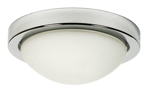RODA LAMPA SUFITOWA PLAFON 325 2X60W E27 CHROM IP44 - 13-96923