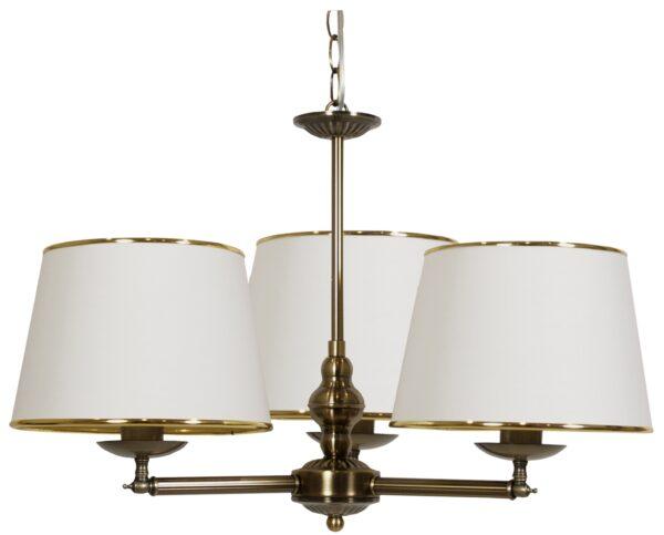 GRAND LAMPA WISZĄCA 3X40W E14 PATYNA - 33-99412