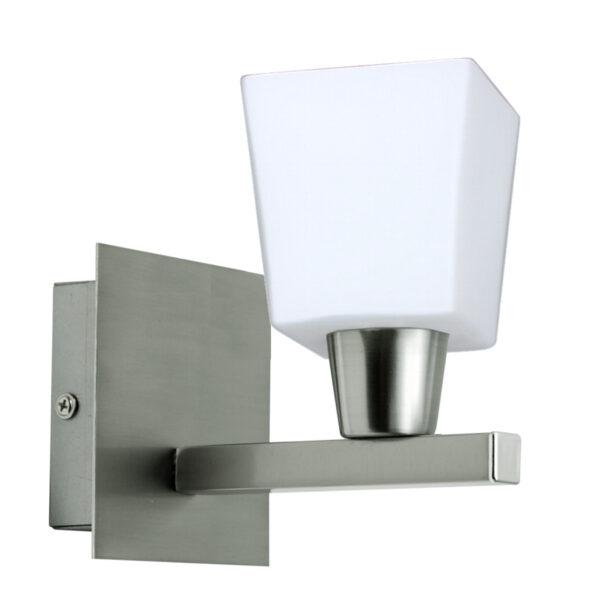 MAXIM LAMPA KINKIET 1X40W E14 NIKIEL MAT - 21-00408